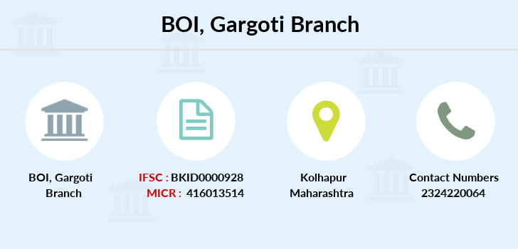 Bank-of-india Gargoti branch