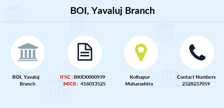 Bank-of-india Yavaluj branch