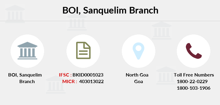 Bank-of-india Sanquelim branch