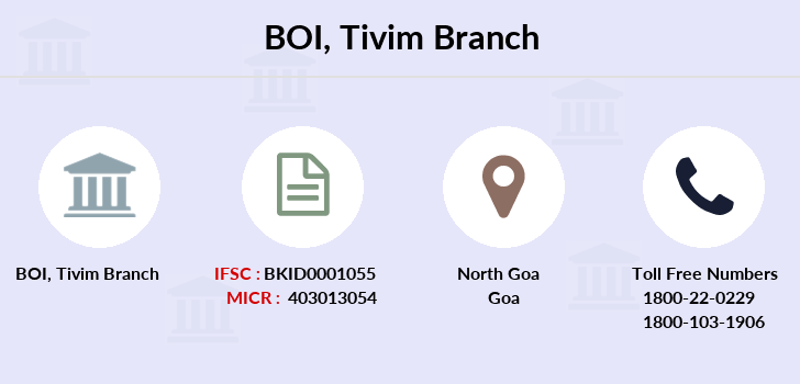Bank-of-india Tivim branch