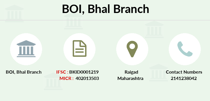 Bank-of-india Bhal branch