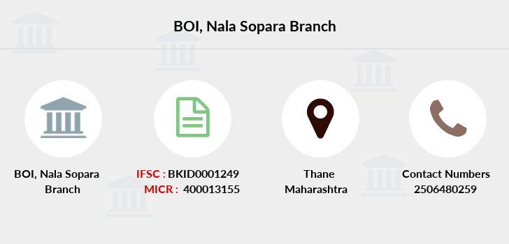 Bank-of-india Nala-sopara branch
