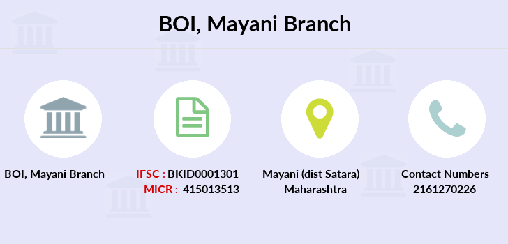 Bank-of-india Mayani branch