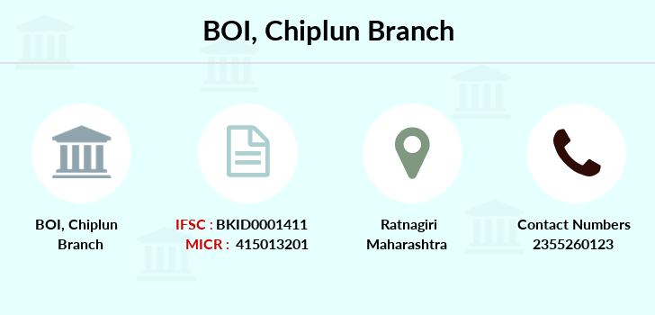 Bank-of-india Chiplun branch