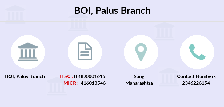 Bank-of-india Palus branch