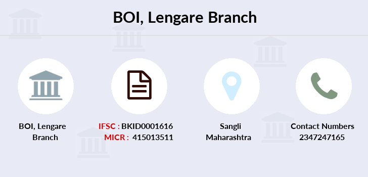 Bank-of-india Lengare branch