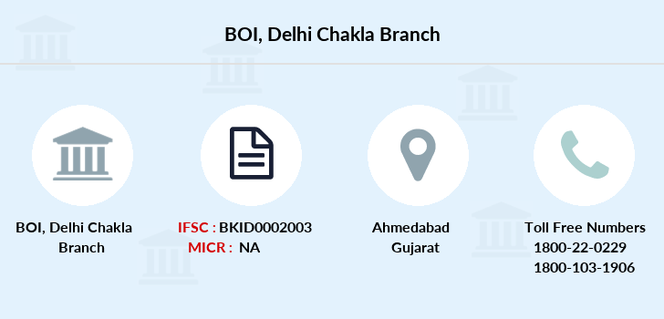 Bank-of-india Delhi-chakla branch