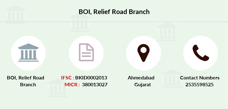 Bank-of-india Relief-road branch