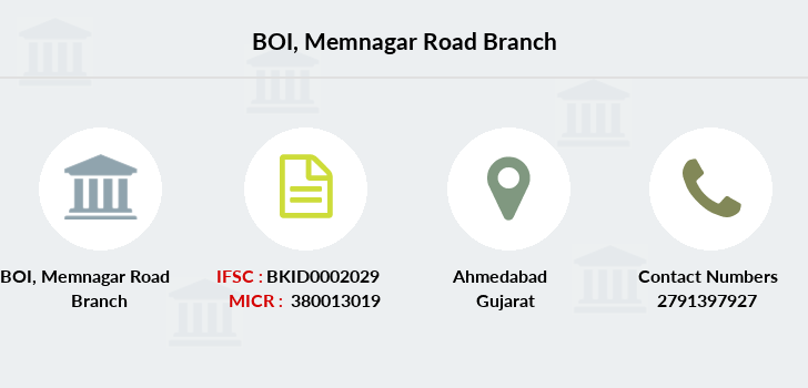 Bank-of-india Memnagar-road branch