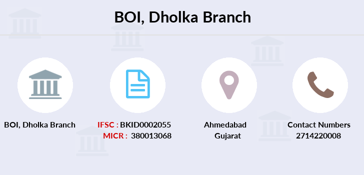 Bank-of-india Dholka branch
