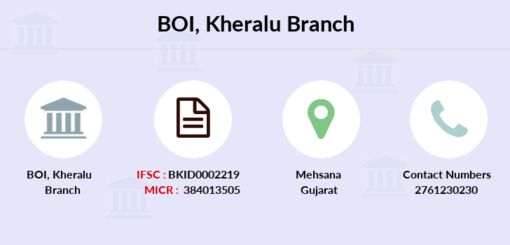 Bank-of-india Kheralu branch