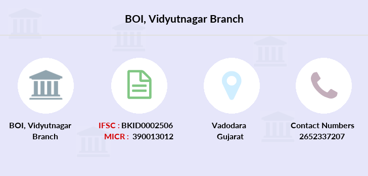 Bank-of-india Vidyutnagar branch