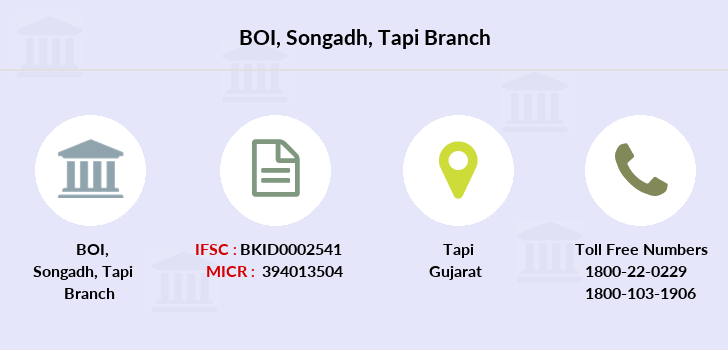 Bank-of-india Songadh-tapi branch