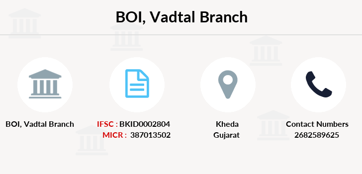 Bank-of-india Vadtal branch
