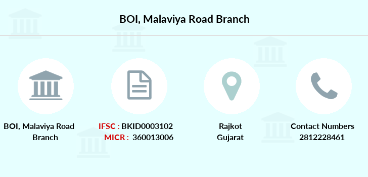 Bank-of-india Malaviya-road branch