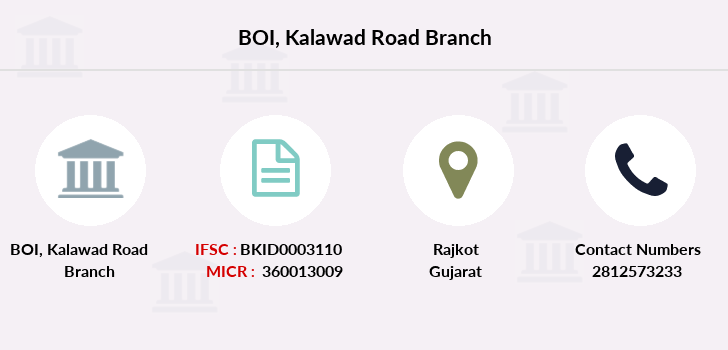 Bank-of-india Kalawad-road branch