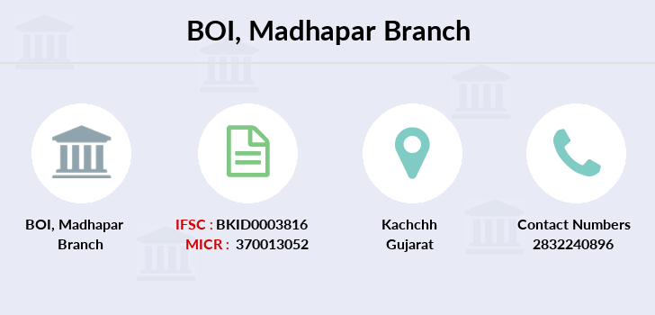 Bank-of-india Madhapar branch