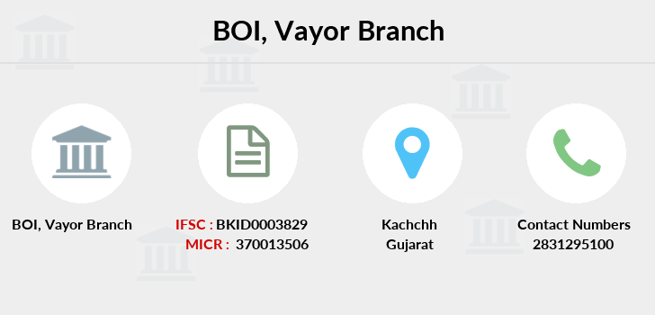 Bank-of-india Vayor branch