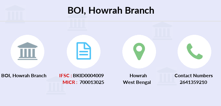 Bank-of-india Howrah branch