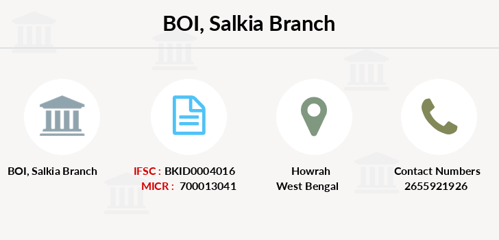 Bank-of-india Salkia branch