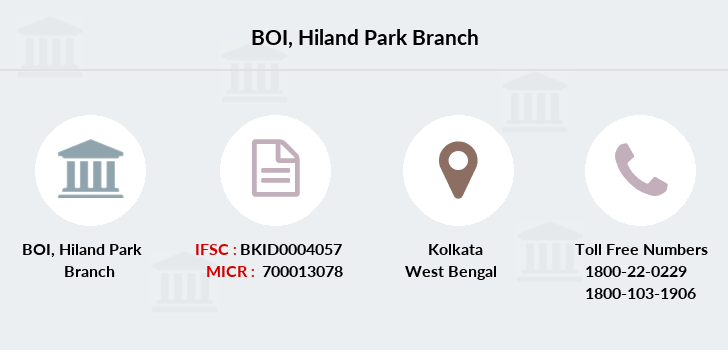 Bank-of-india Hiland-park branch