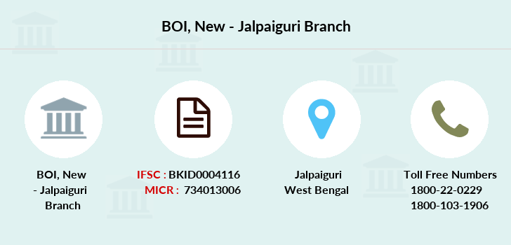 Bank-of-india New-jalpaiguri branch