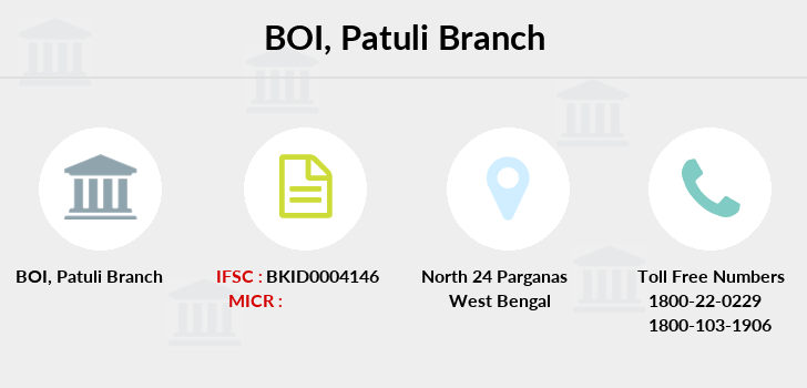Bank-of-india Patuli branch