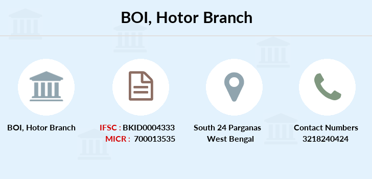 Bank-of-india Hotor branch