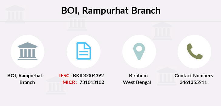 Bank-of-india Rampurhat branch