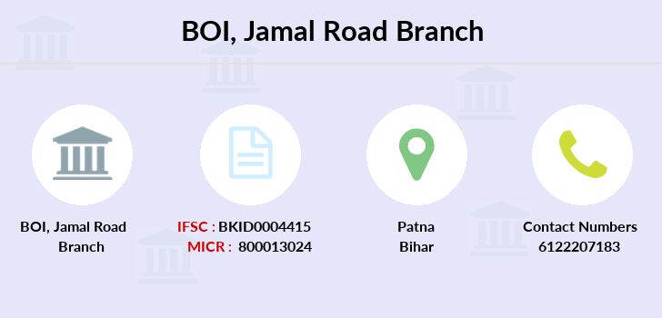 Bank-of-india Jamal-road branch