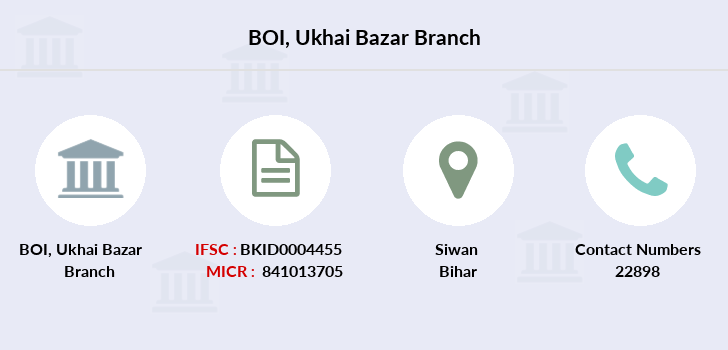 Bank-of-india Ukhai-bazar branch