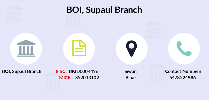 Bank-of-india Supaul branch