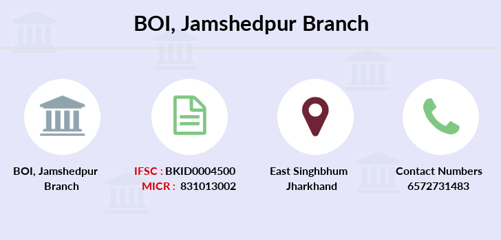 Bank-of-india Jamshedpur branch