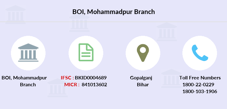 Bank-of-india Mohammadpur branch