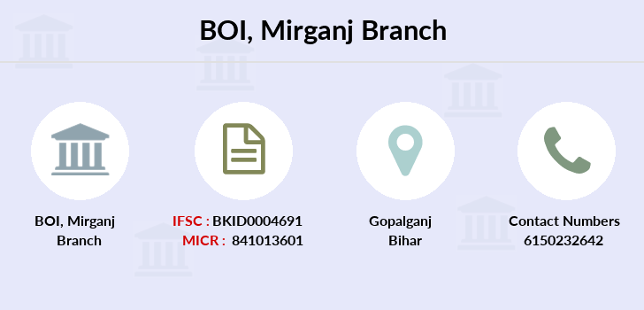 Bank-of-india Mirganj branch