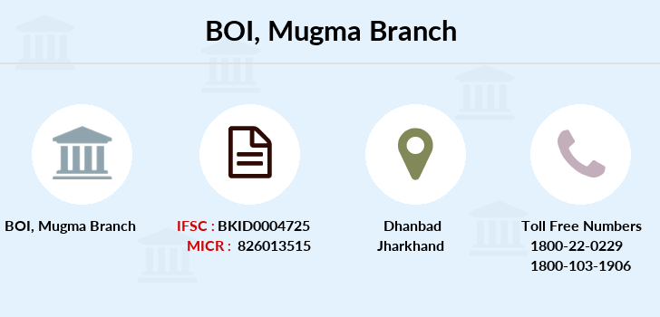 Bank-of-india Mugma branch