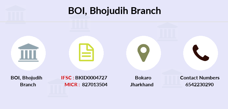 Bank-of-india Bhojudih branch