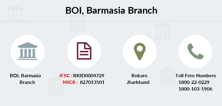 Bank-of-india Barmasia branch