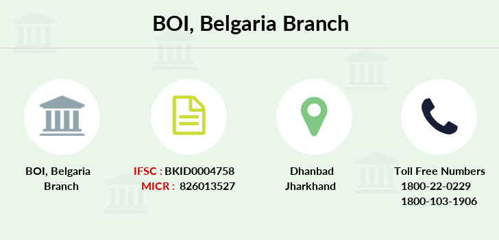 Bank-of-india Belgaria branch