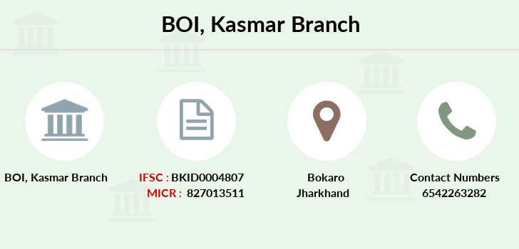 Bank-of-india Kasmar branch
