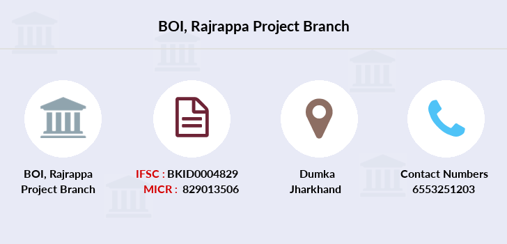 Bank-of-india Rajrappa-project branch