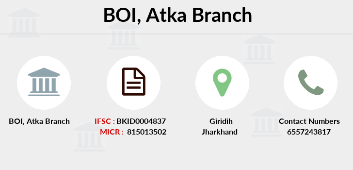 Bank-of-india Atka branch