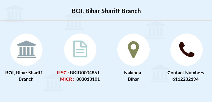 Bank-of-india Bihar-shariff branch