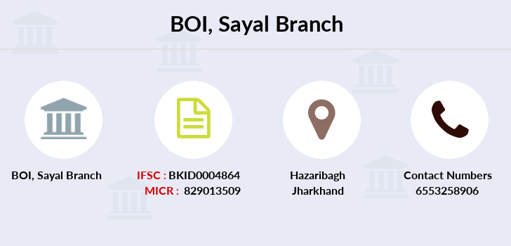 Bank-of-india Sayal branch
