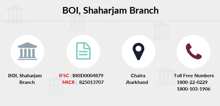 Bank-of-india Shaharjam branch