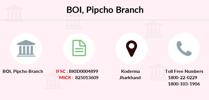 Bank-of-india Pipcho branch