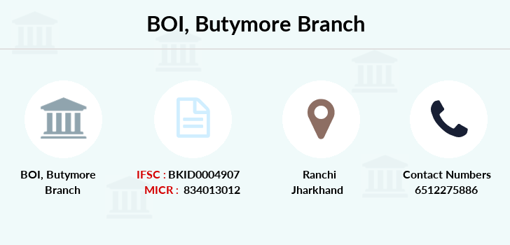 Bank-of-india Butymore branch