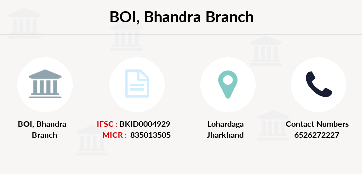 Bank-of-india Bhandra branch