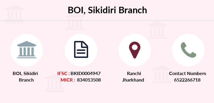 Bank-of-india Sikidiri branch