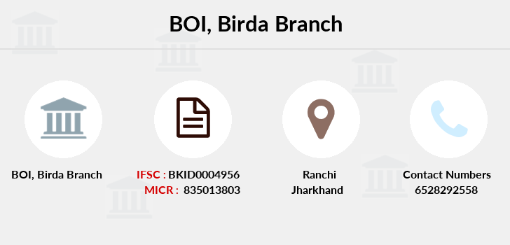 Bank-of-india Birda branch